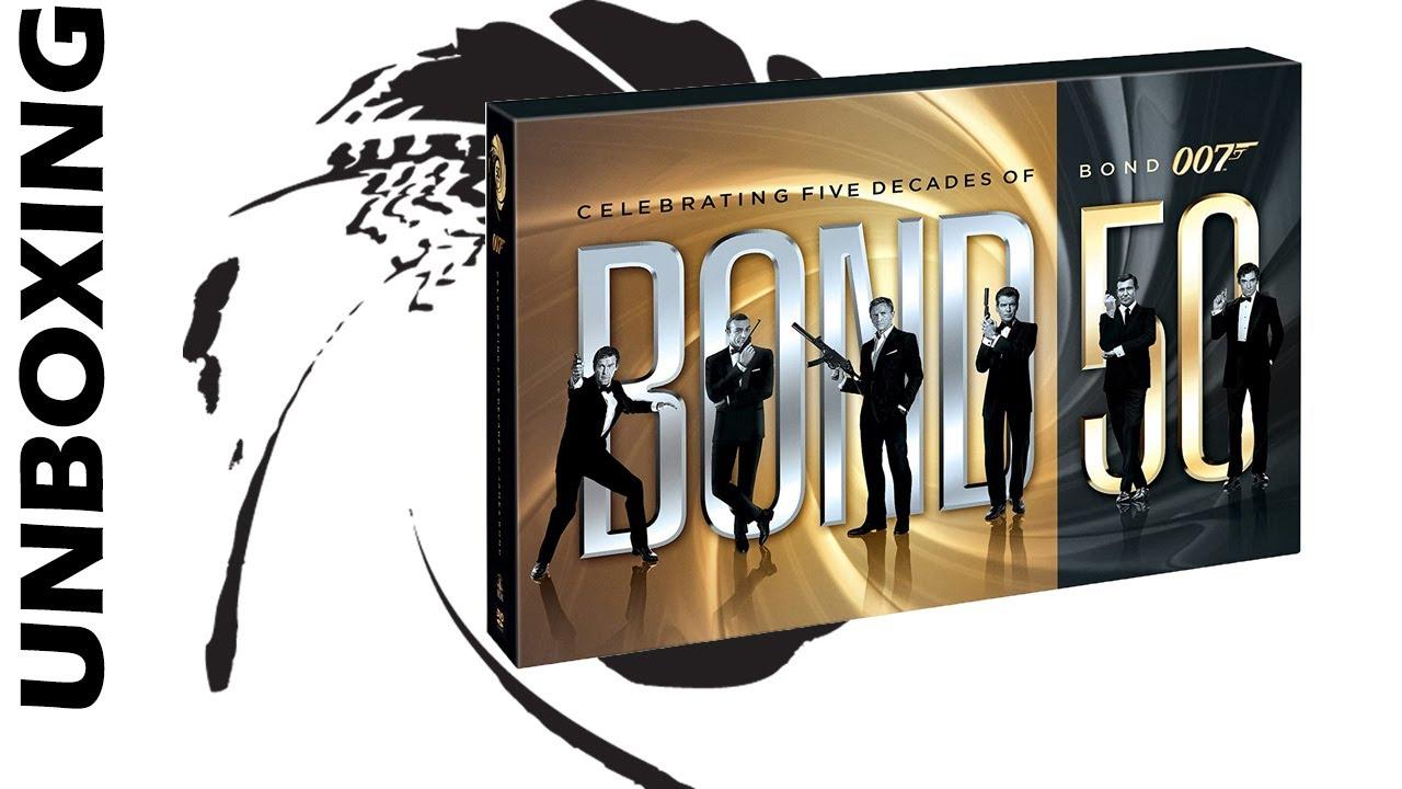 Unboxing! James Bond 50th Anniversary Blu-Ray set!! [2020]