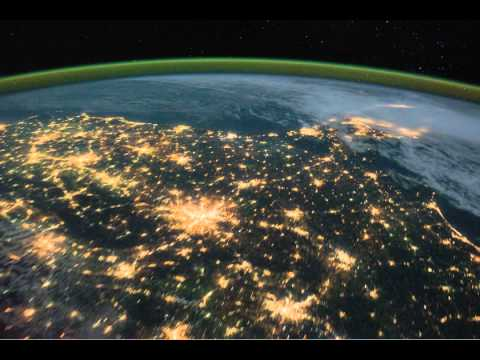 ISS: Pass over Canada and Central United States at Night (2011.10.18)