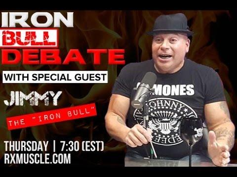 Jimmy Pellechia Unleashed! Iron Debate with Palumbo/Romano/Aceto
