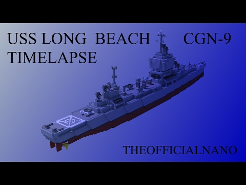 USS Long Beach 1:1 speed build