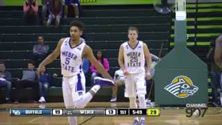 Dusty Baker: Weber State '16-'17 Highlights