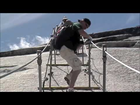 Klettersteig Yosemite : Half dome hike in yosemite youtube