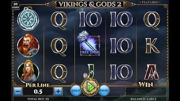 Vikings And Gods 2 Brand New Spinomenal Slot Demo Gameplay