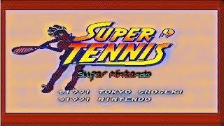 Retro Original Snes: Super Tennis am 4k TV