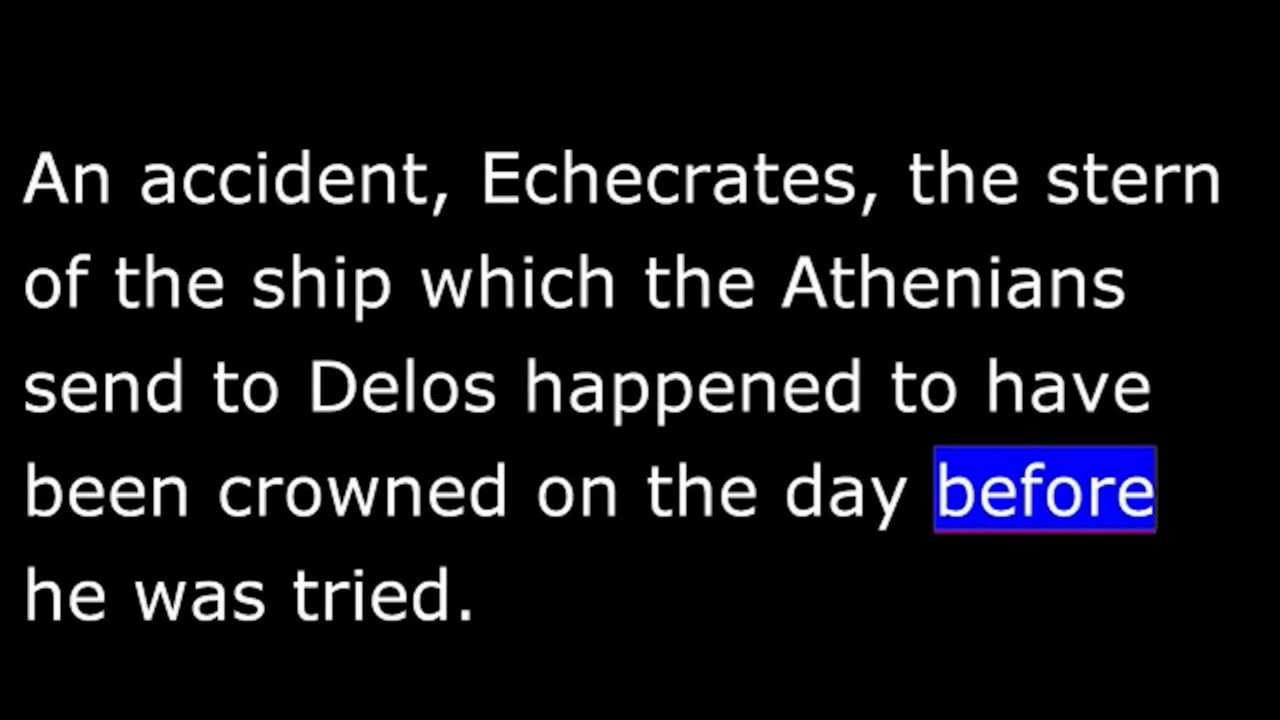 summary of phaedo in platos dialogue