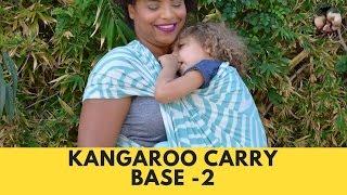 Kangaroo Carry, Tied under Bum (TUB)