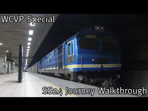 WCVP Special: KTM Intercity Long Distance Night Train -- Senandung Sutera 24up Journey Walkthrough