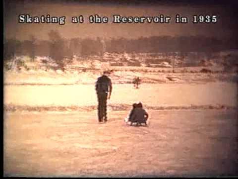 Skating on the Reservoir, Massillon, Ohio 1935