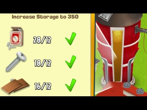 Hay Day · Let's Play #78 · Increase Silo Storage to 350