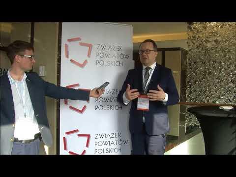 Dr Adam Bodnar podczas XXIII Zgromadzenia Ogólnego Związku Powiatów Polskich