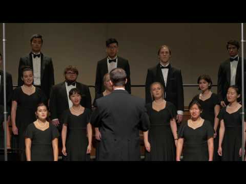 USC Thornton Concert Choir - Blow, Blow, Thou Winter Wind