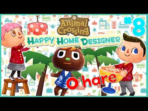 O'Hare's Tropical Paradise! | Animal Crossing Happy Home Designer #8