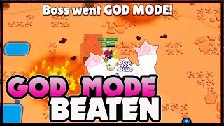 Beating God Mode | Insane IV beaten LIVE | Boss Fight in Brawl Stars