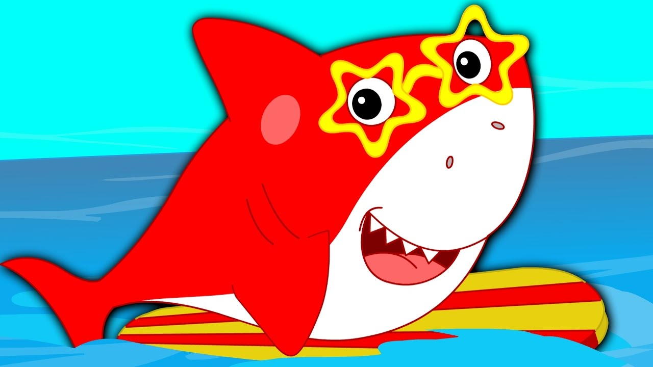 preschool shark song five sharks shark song nursery rhymes 651