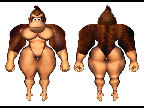 DONKEY KONG OCULUS RIFT GAME (UNRELEASED FOOTAGE)