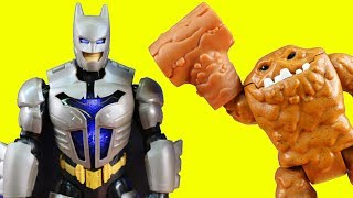 Total Armor Batman Robot Battles Imaginext Joker ! Superhero Toys