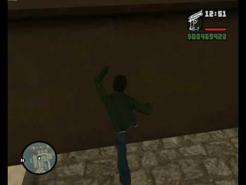 GTA SA Cam Hack Mission 16: Robbing Uncle Sam