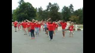 Flash mob au Gouffre du Padirac.