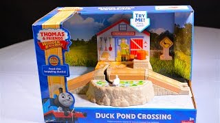 DUCK POND CROSSING 2016 Thomas And Friends Destination Wooden Railway Toy Train Review