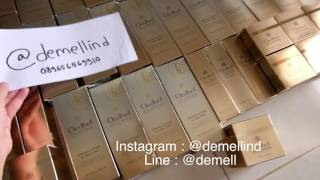 Cledbel Gold Collagen Miracle Face Lifting Mask review Indonesia Ready Demellind