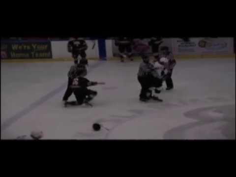 Hockey Fights - Bowlby vs Pryde Dec 15