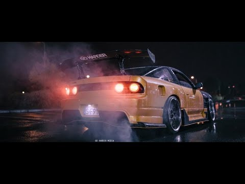 NISSAN SILVIA S13 200SX | RAINY NIGHT | GO HARDER MEDIA