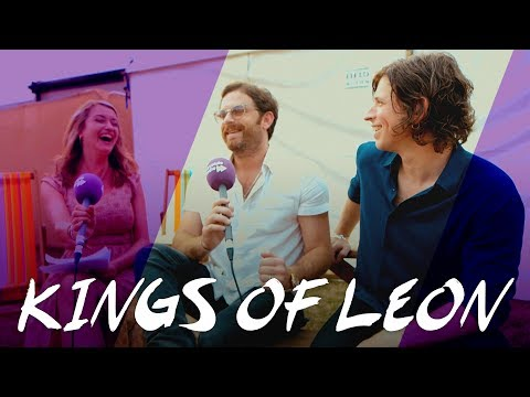 Kings of Leon: Q&A at British Summertime Festival
