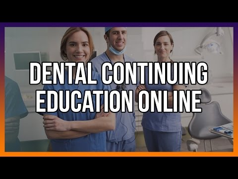 Dental Continuing Education Online
