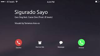 Repeat youtube video Geo Ong - Sigurado Sayo ft. Curse One (Lyric Video)
