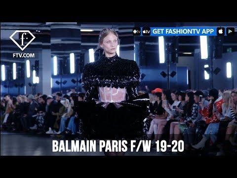 Balmain Paris Fashion Week F/W 19-20 | FashionTV | FTV