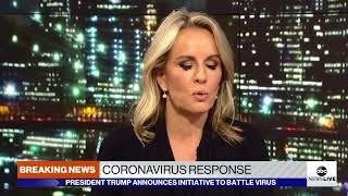 President Trump gives update on coronavrius with CDC officials