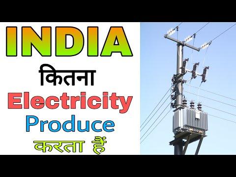 कितना बिजली पैदा करता है भारत, How much India Generate Electricity Power