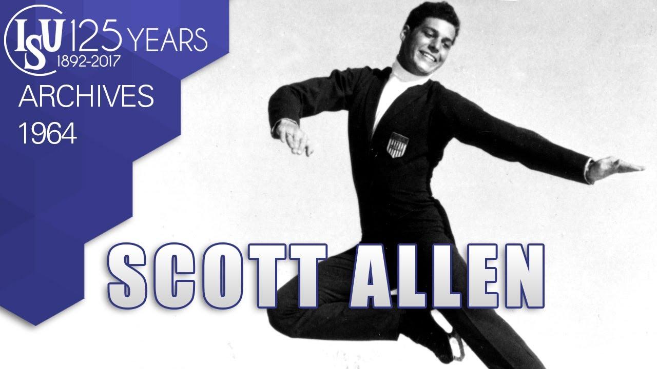 Scott Allen Usa 9th Winter Olympic Games Innsbruck 1964 Isu