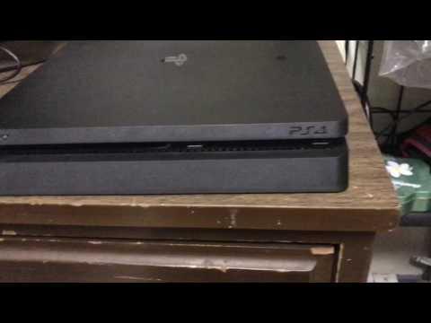 PS4 Slim Simple Fan Cleaning
