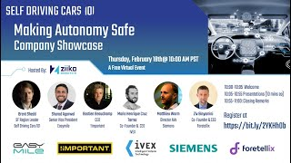 Self Driving Cars 101 -  Making Autonomy Safe