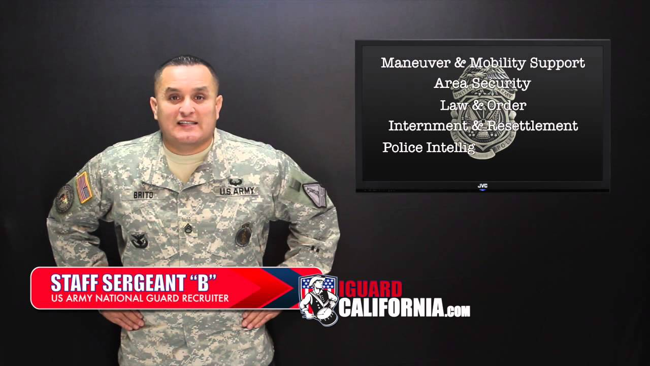Army Military Police and Entrance Requirements, HD - YouTube