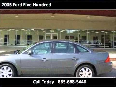 2005 ford five hundred used cars knoxville tn youtube. Black Bedroom Furniture Sets. Home Design Ideas