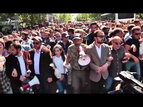 Ереван: шествие оппозиции в память о жертвах Геноцида армян