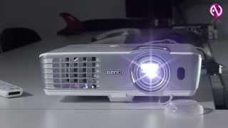 BenQ: Проектор для домашнего кинотеатра W1080ST+(Компания BenQ представила проектор, который выдаёт размер изображения 100 дюймов с расстояния 1.5м, обладает..., 2014-12-16T10:47:16.000Z)