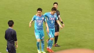 後半48分、イバルボのラストパスを、田川亨介が右足ダイレクトでゴール...