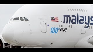 Real Madrid C.F.  *CHARTER* - Malaysia Airlines A380-841 Takeoff Melbourne Airport [9M-MNF]