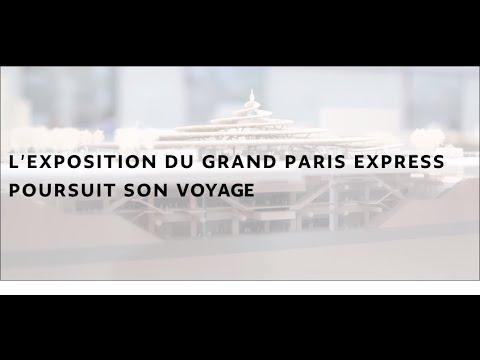 Exposition : Les Passagers du Grand Paris Express