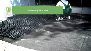geoSYSTEM  How to make porous driveway. Step-by-step instruction