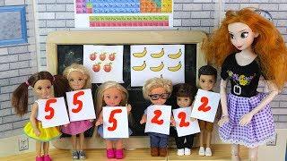 ДЕВОЧКИ ПРОТИВ МАЛЬЧИКОВ Мультик #Барби Про школу Играем в куклы