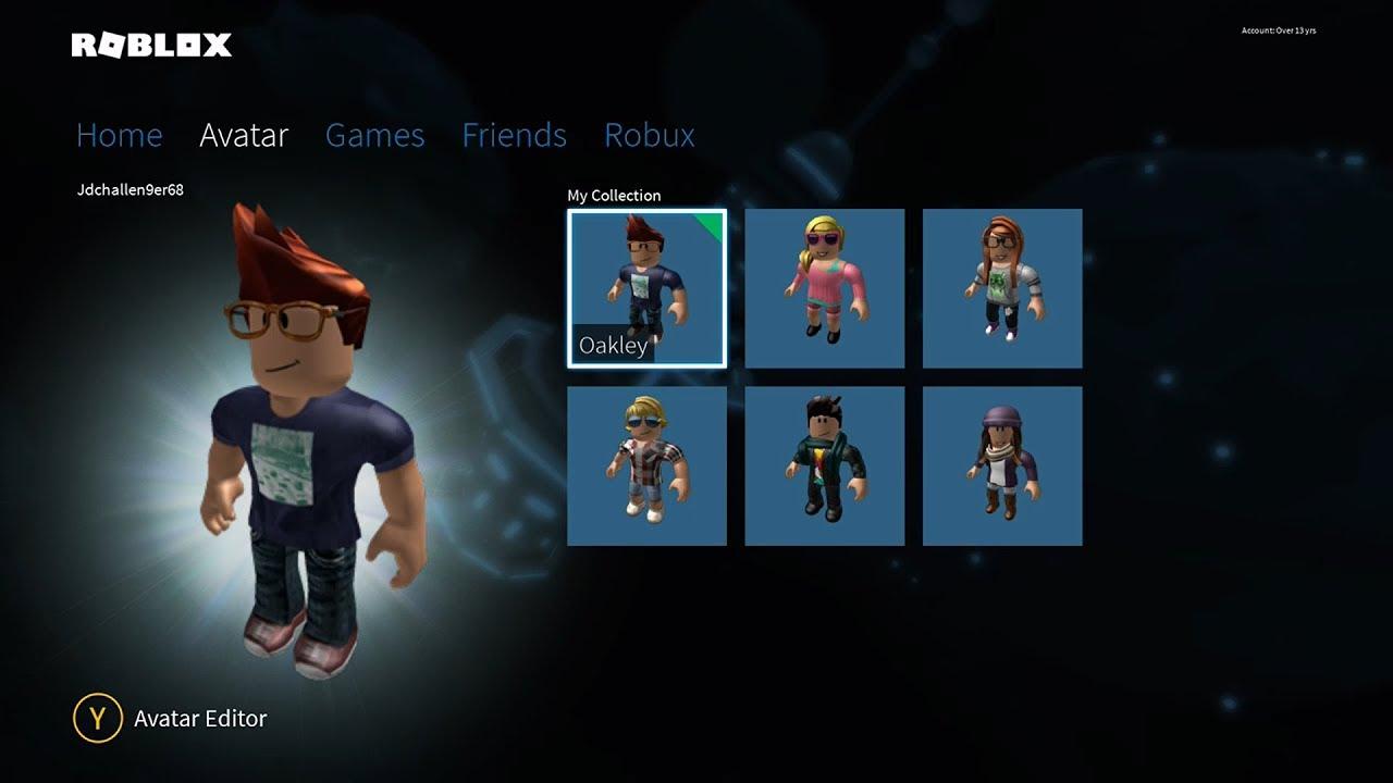 Roblox On Xbox Avatars Youtube