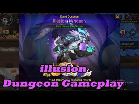 Dragon RPG: Dragon Village M - Illusion Dungeon Gameplay