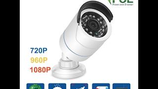 Techage Сравнительный обзор трех IP камер 1080P 960P 720P (YN-IPC-BT508)