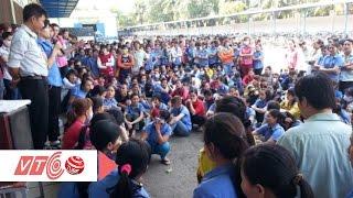 Công nhân đình công đòi quyền đi vệ sinh | VTC