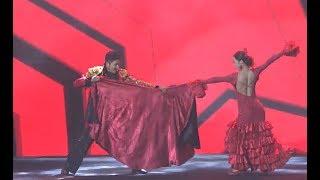 雷探长金秒奖颁奖礼的西班牙舞蹈Lei''s Spanish Dance