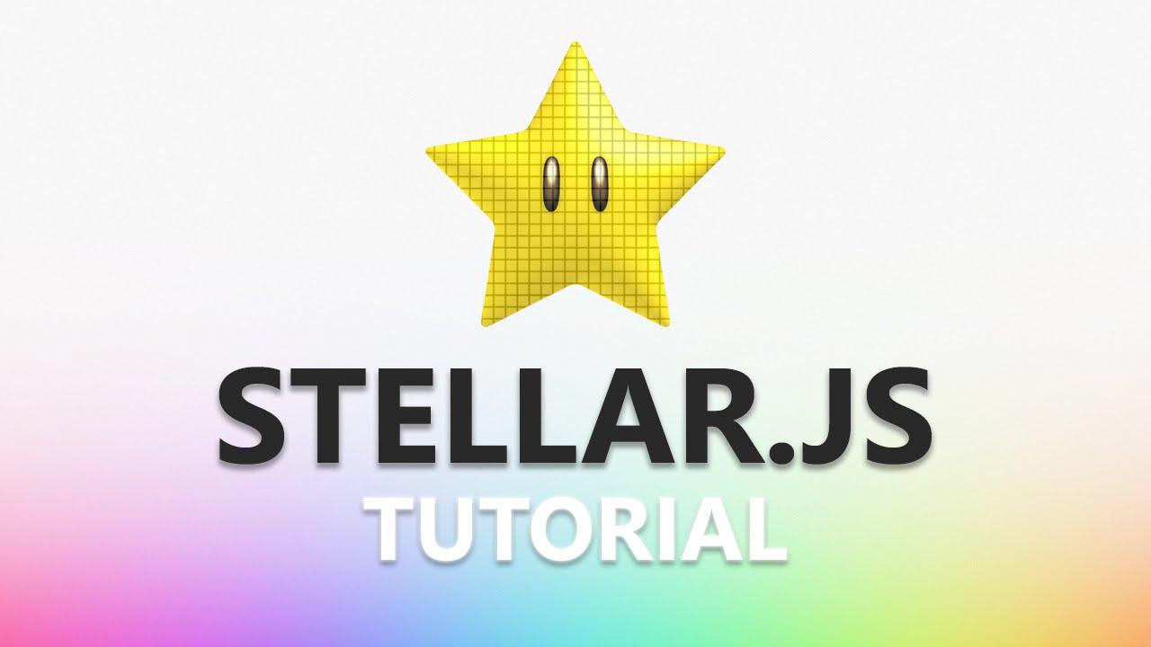Stellar js Tutorial - Part 4: Horizontal Parallax Scrolling